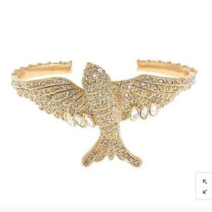 J.Crew Pave Crystal Sparrow Cuff